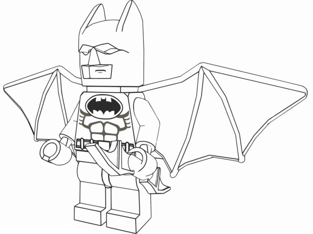 kleurplaten batman lego