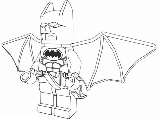 Batman Kleurplaten Printen.Batman Kleurplaten